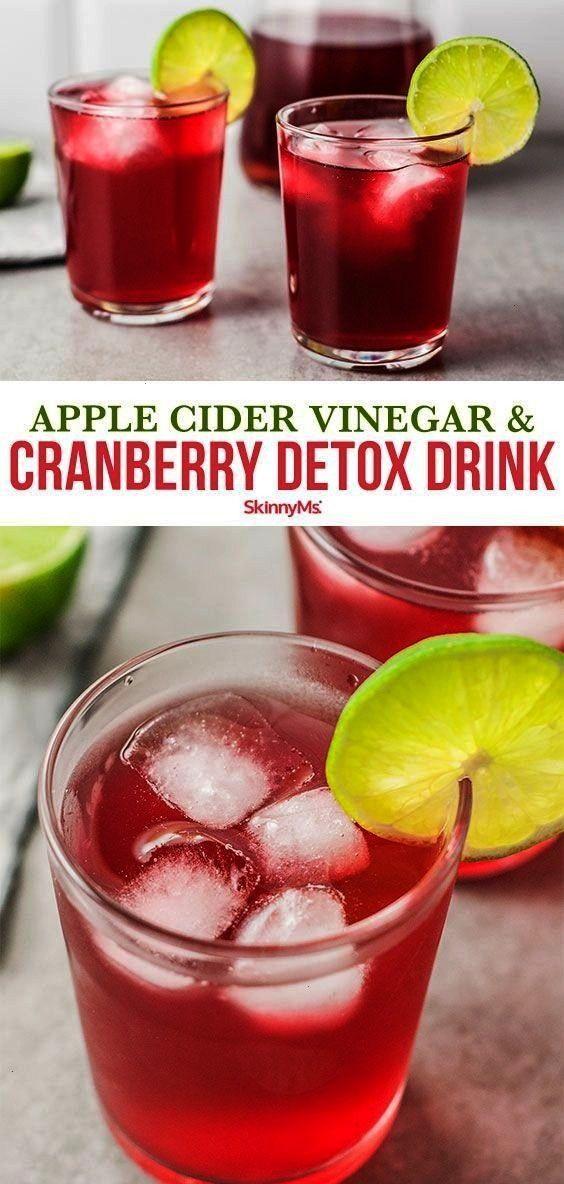 cider vinegar and cranberry detox drink can help kickstart your metabolism boost energy and rev up a sluggish digestive systemThis apple cider vinegar and cranberry detox...