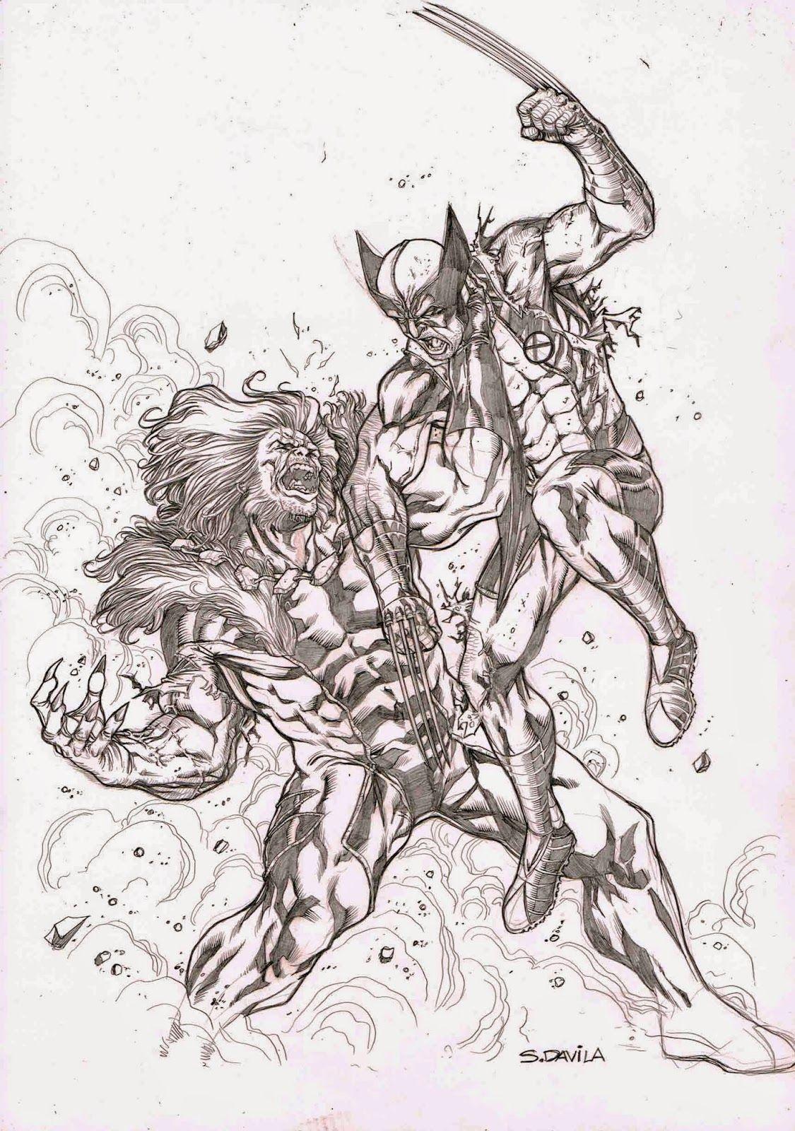 Sergio F Davila Sergio Davila Comic Art Drawings
