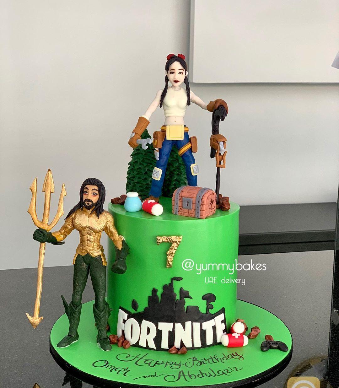 Fortnite Season 3 Cake Fortnite Cake كيكه فورتنايت كيكة فورتنايت كيك ابوظبي كيك عيد ميلاد ولد Fortnite Birthday Fortn Birthday Cake Cake Birthday
