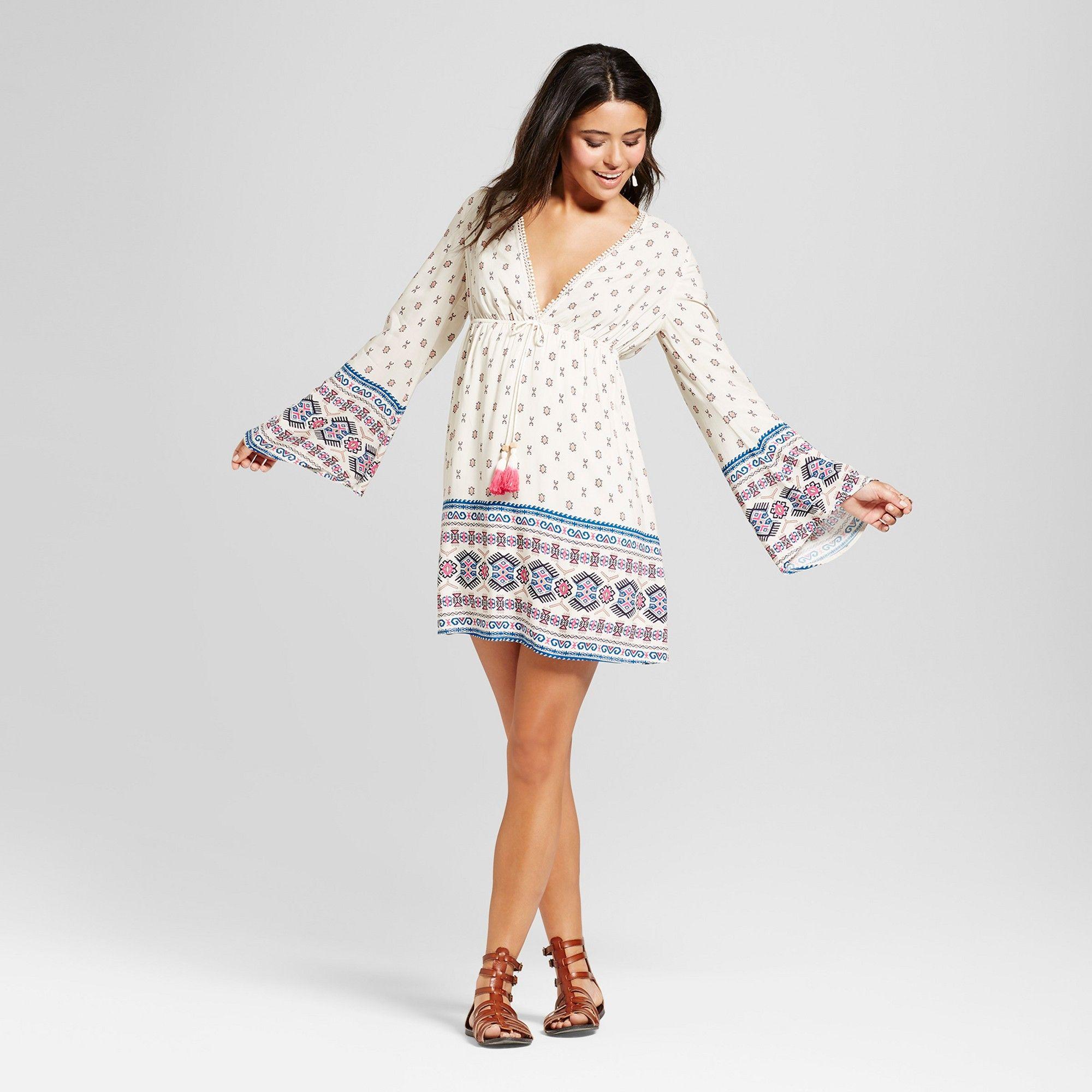 bba528693 Women's Caftan Dress - Xhilaration (Juniors') White Xxl   Products ...