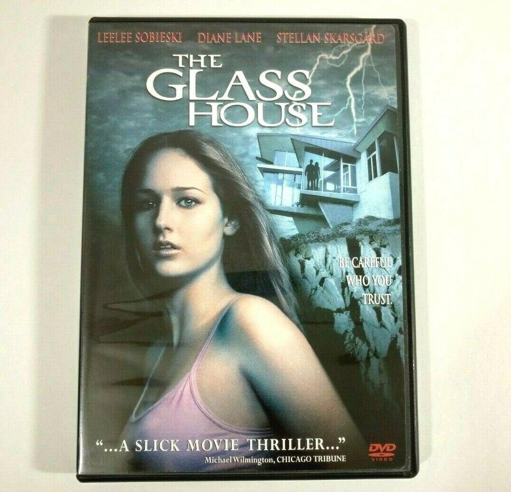 Details About The Glass House Dvd 2001 Leelee Sobieski Stellan Skarsgard Diane Lane Glass House Leelee Sobieski Diane Lane
