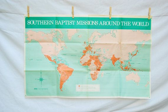 Back to school world map southern baptist missions around the world sciox Gallery