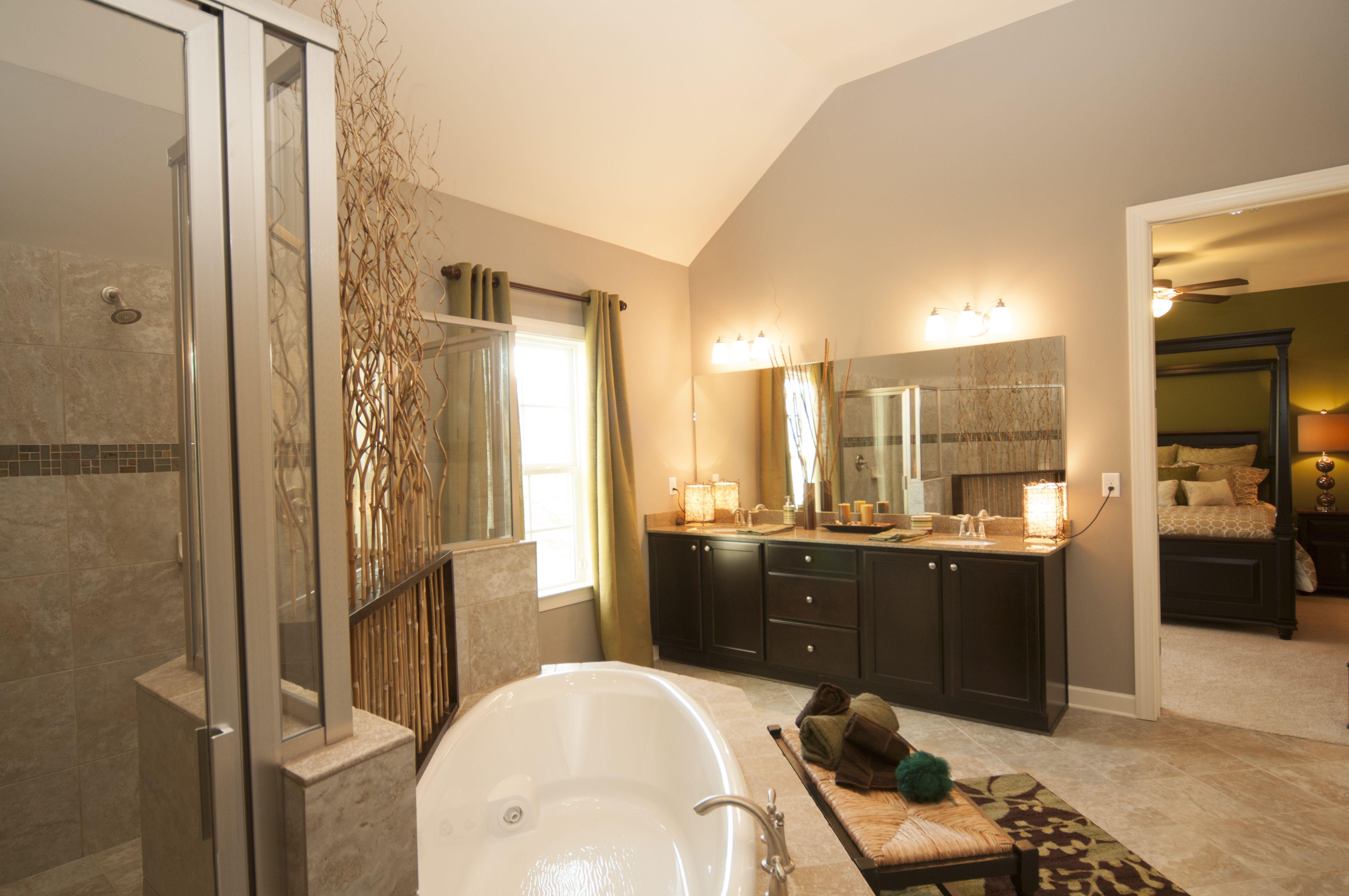 Bamboo In Bathroom Drop In Tub
