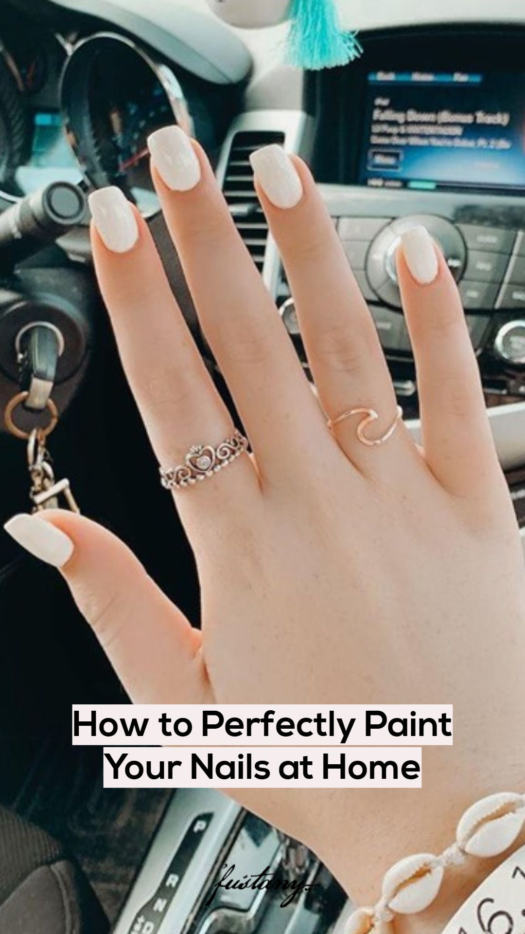 How to perfectly paint your nails at home nails at home