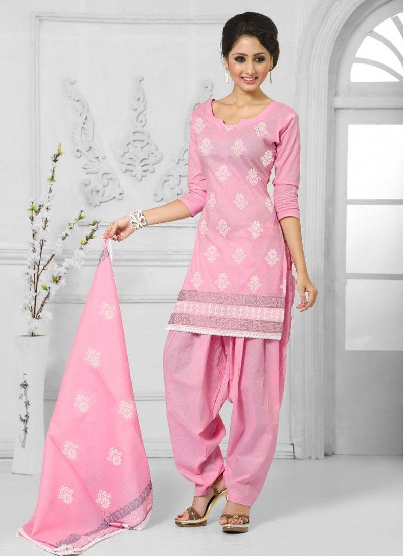 f6cb80f9ad Mesmerizing Pink Salwar Suit