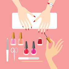 Manicure Clipart Google Search Manicure Set Manicure Nail Salon Decor