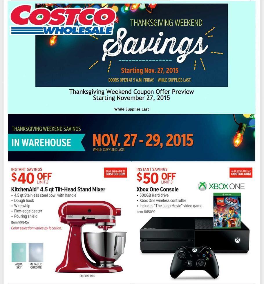 Costco Wholesale 2019 Black Friday Ad Costco, Black