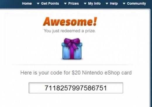 carte nintendo eshop gratuit Free Nintendo eShop Cards | Nintendo eshop, Eshop, Free eshop codes