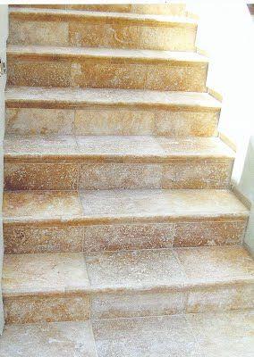 Good Travertine Stairs.