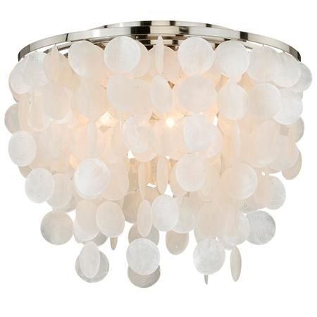 Modern capiz shell flush mount modern low ceiling lighting and lights modern capiz shell flush mount ceiling fixturesceiling mozeypictures Image collections