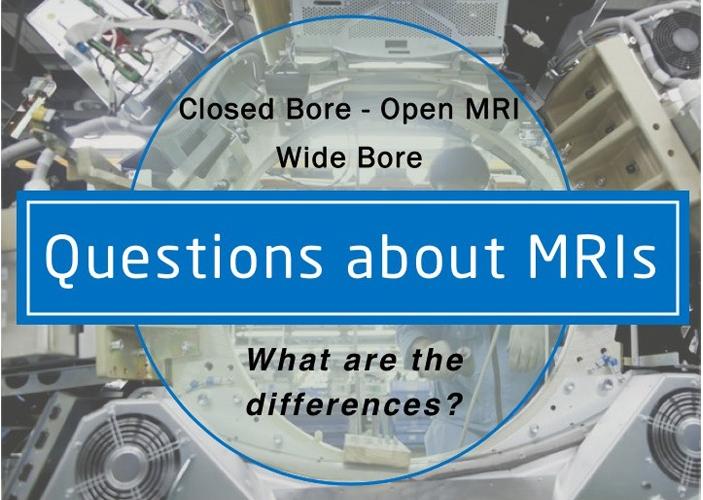 Mri Infographic Closed Bore Open Mri Wide Bore Mri Medical Imaging Infographic