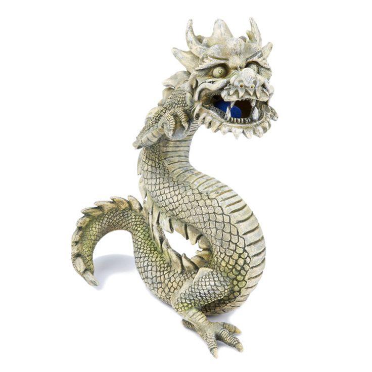 Top Fin Balinese Dragon Airstone Aquarium Ornament Aquarium Ornaments Dragon Fish Balinese Cat