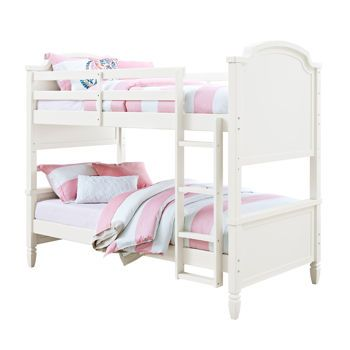 Charlie Twin Over Twin Bunk Bed Costco Ca 500 White Bunk Beds Twin Bunk Beds Bunk Beds