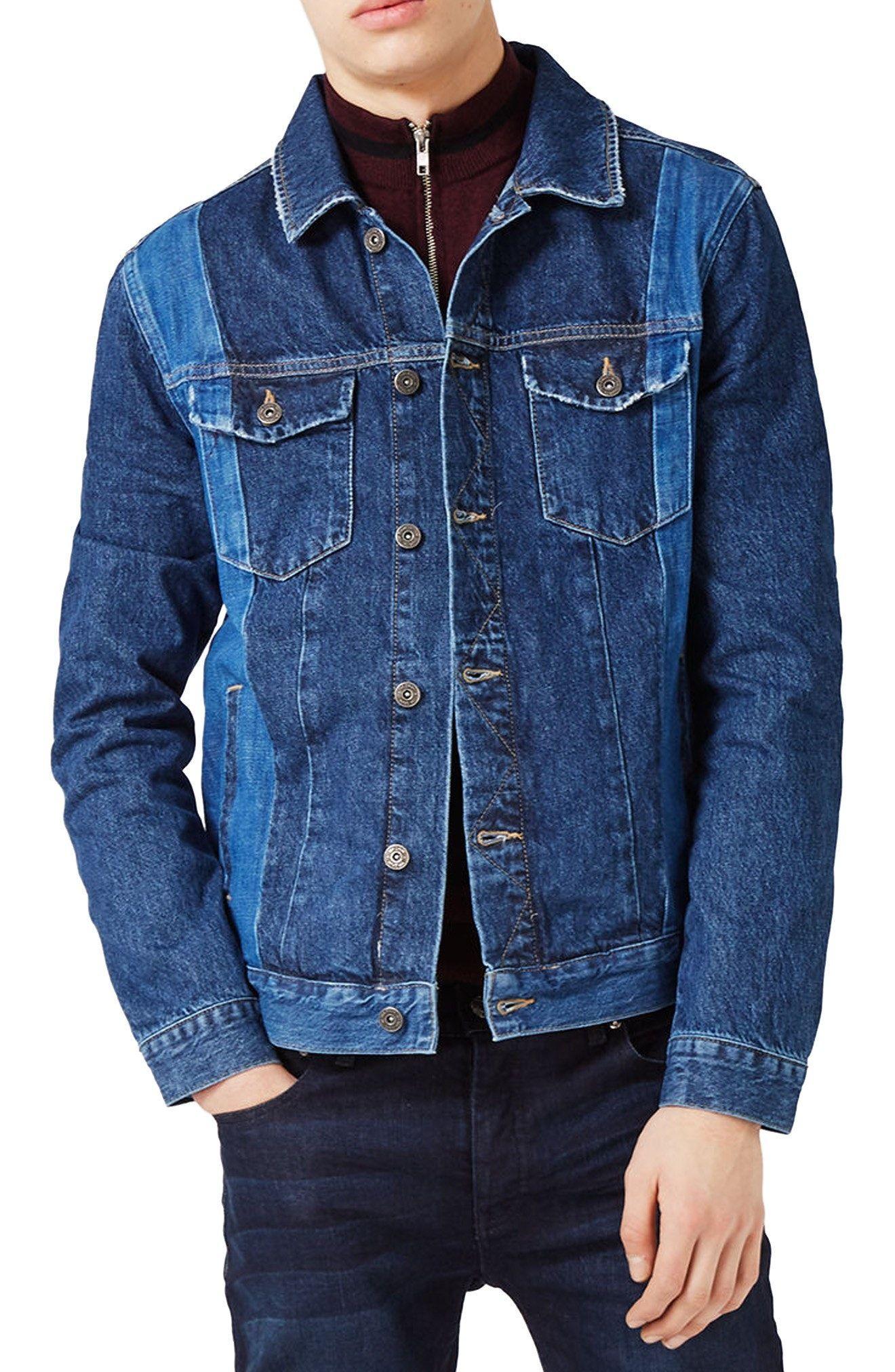 topman jacke jeans blouson