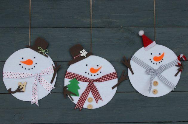 15 Last-Minute-DIY-Weihnachtsschmuck aus alten CD-Discs - Dekoration De #herbstfensterdekokinder