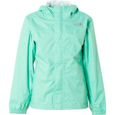 c8290ac9e9a2 The North Face Zipline Rain Jacket - Girls