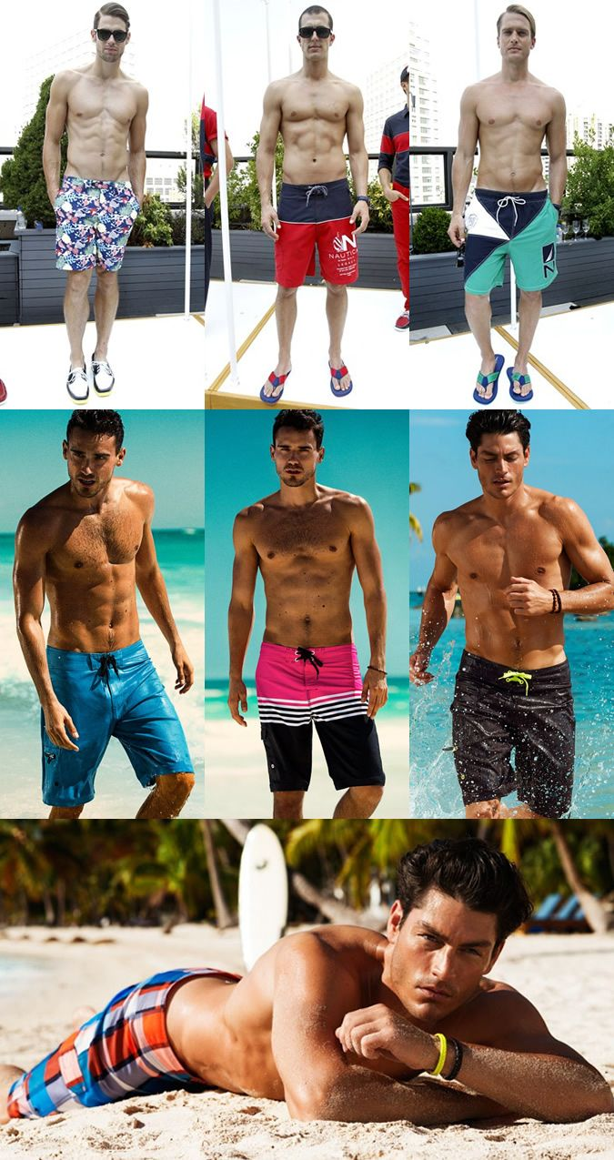 Men's Swimwear Trends SS13 – Part 2: Short Swim Shorts Board Shorts