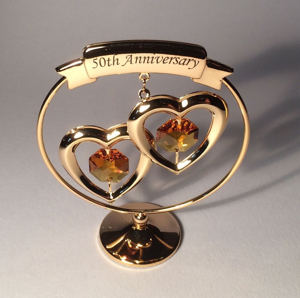 50th Wedding Anniversary Gifts Ebay