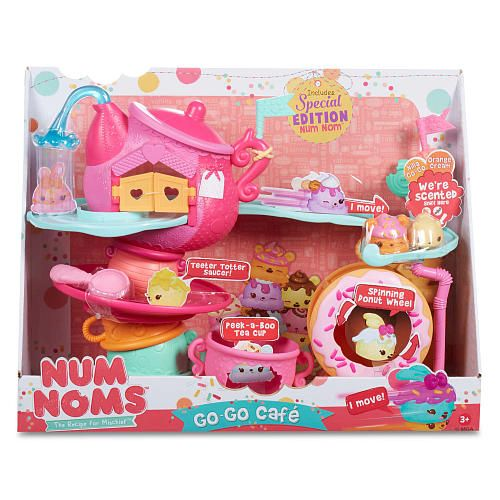 Num Noms Go Go Cafe Playset With Scented Characters Mga