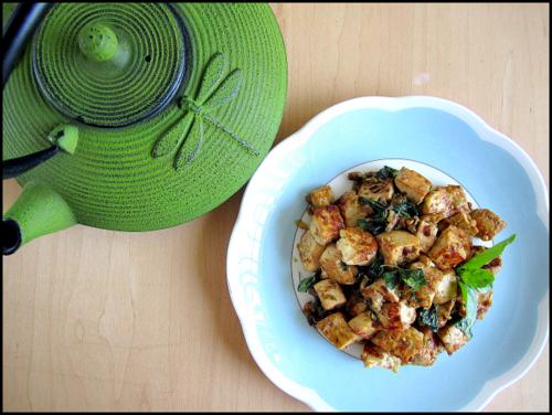 Sabor Eats | Thai Basil Tofu