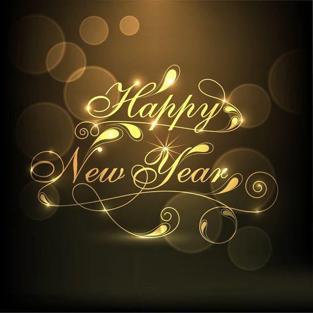 Happy New Year Message Card!! | New Year Wishes | Pinterest | Neujahr