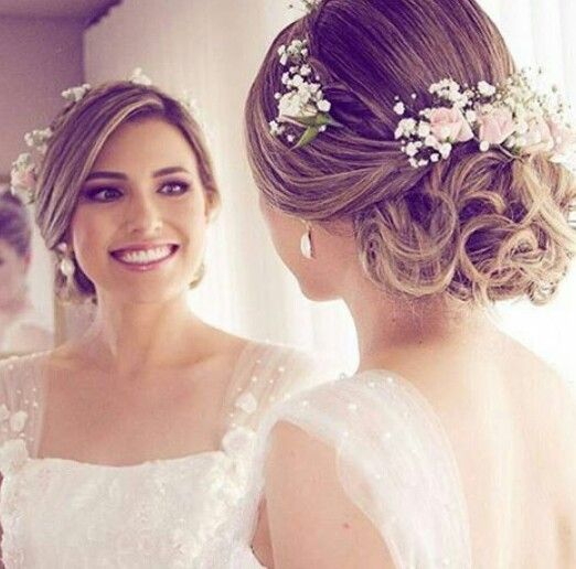 Pin By Jessenia Mejia On Penteados Wedding Hairstyles For Women Bride Hairstyles Wedding Hairstyles Updo