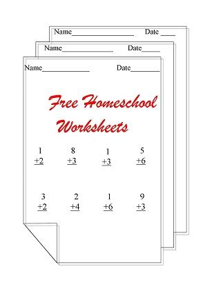 Free Homeschooling Worksheets Home Education Pinterest