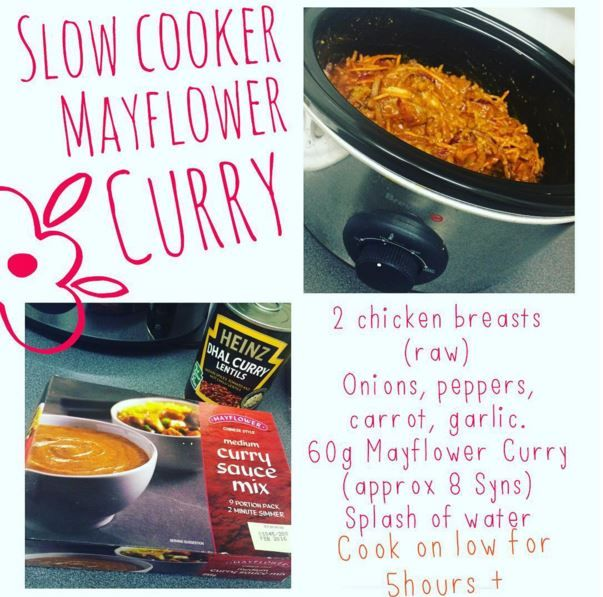 Slow Cooker Mayflower Curry In 2020 Slow Cooker Slimming