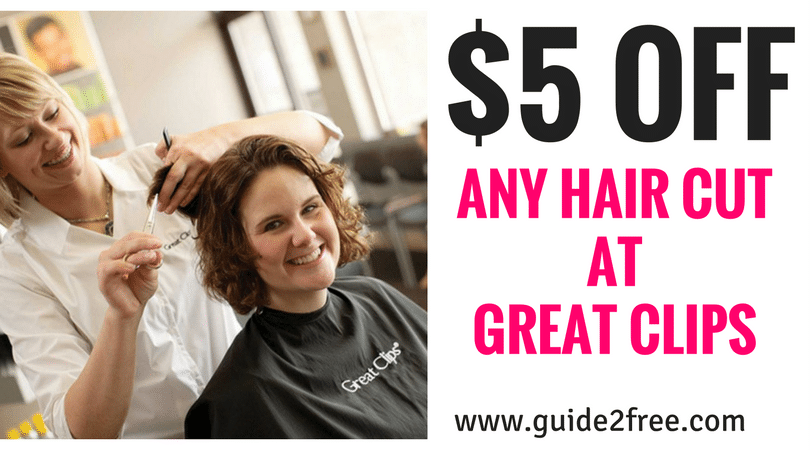 Great Clips Coupon 5 Off ANY Haircut Great clips