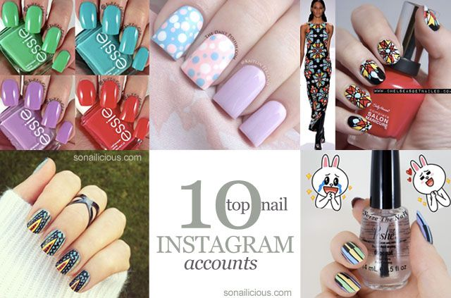 TOP 10 Nail Art Instagram Accounts to follow