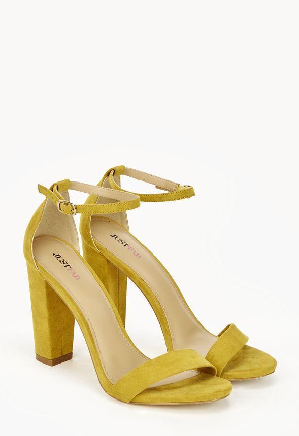 Chaussures Ives en Yellow - Livraison gratuite sur JustFab