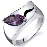 Found it at Wayfair - Musuem Style Marquise Cut 1.25 carats Ring in Sterling Silver