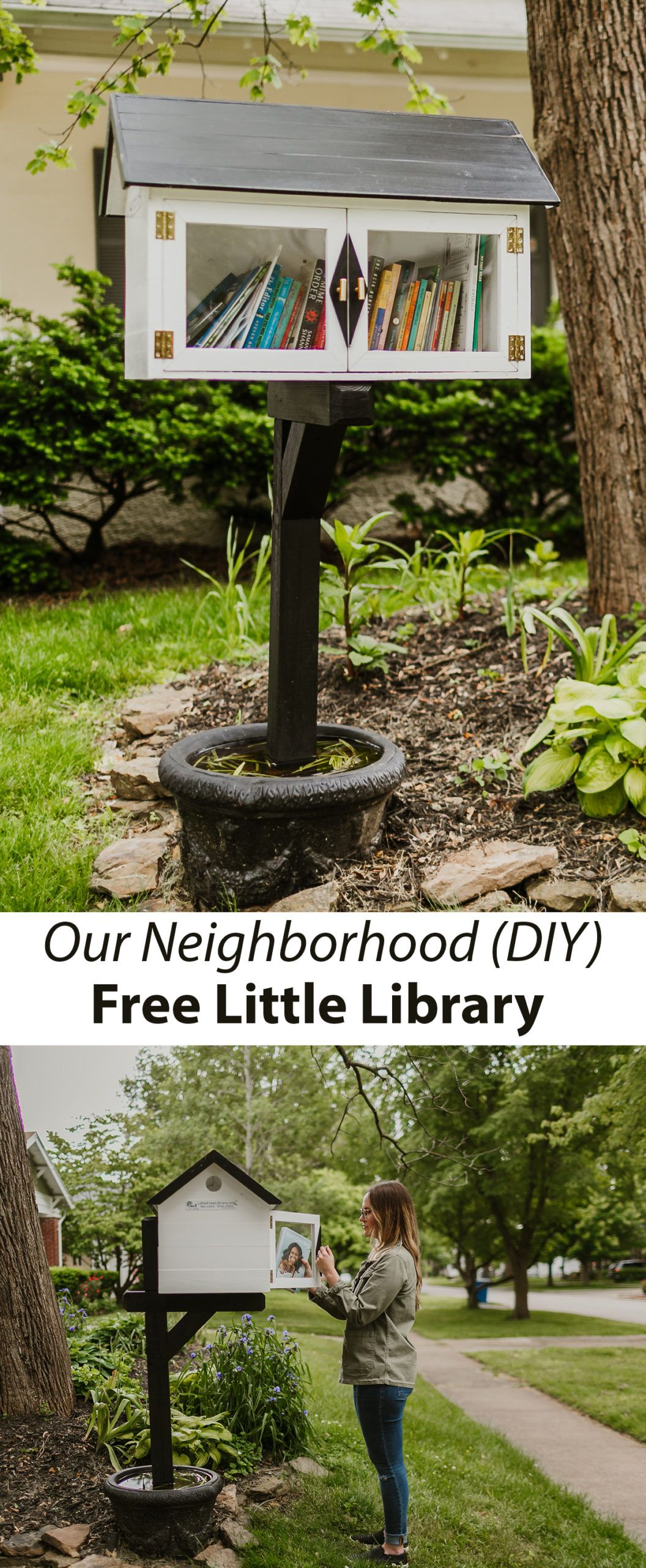 Our Neighborhood Little Free Library A Beautiful Mess in