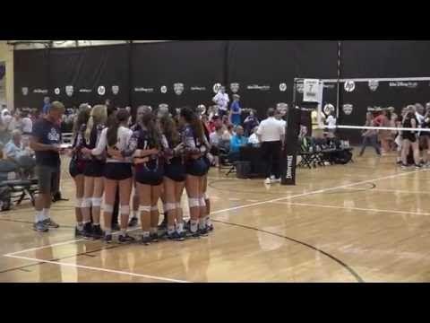 2016 Aau Girls Volleyball National Championship Game 14 Club Ova Tbva