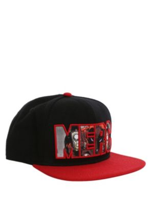 9cd369e3110 Marvel Universe Deadpool Merc Snapback Ball Cap