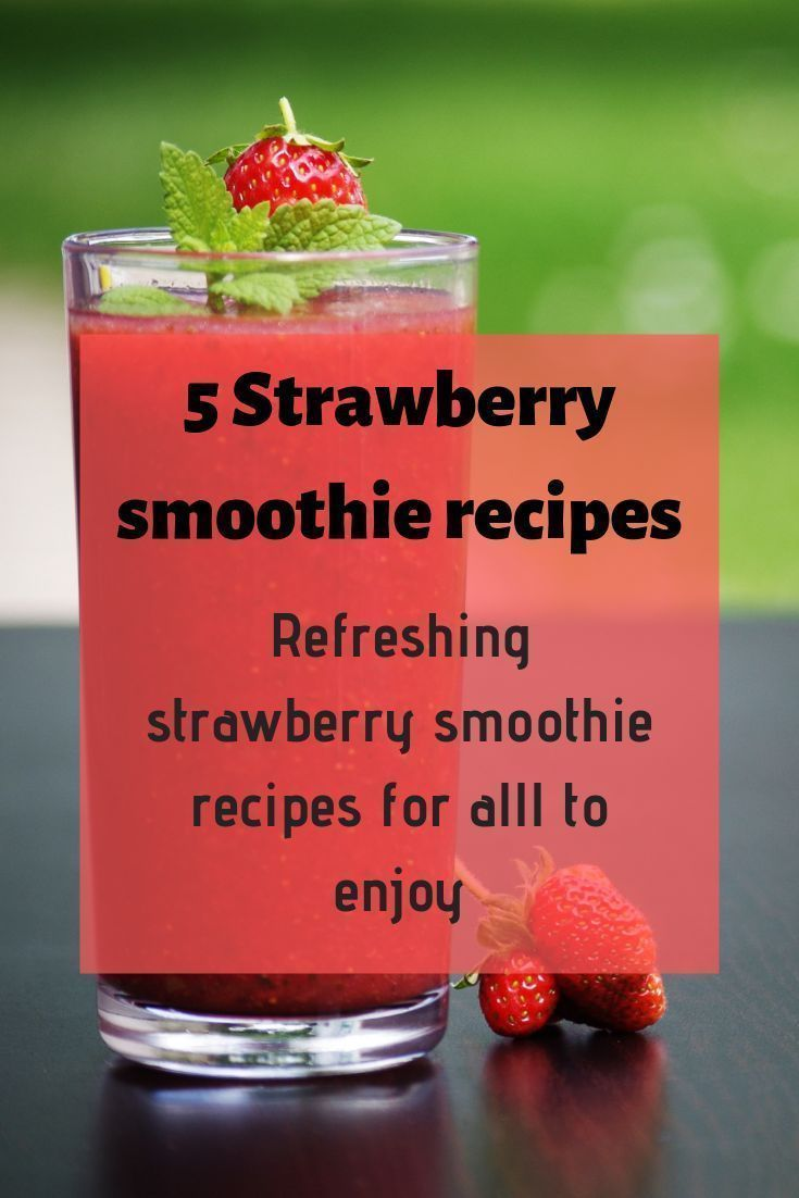5 Delicious strawberry smoothie recipes #chocolatestrawberrysmoothie Amazing and easy strawberry smoothie recipes for everyone in the family. Healthy smoothies that are refreshing in the summer and soothing in the winter. #chocolatestrawberrysmoothie 5 Delicious strawberry smoothie recipes #chocolatestrawberrysmoothie Amazing and easy strawberry smoothie recipes for everyone in the family. Healthy smoothies that are refreshing in the summer and soothing in the winter. #chocolatestrawberrysmoothi #chocolatestrawberrysmoothie