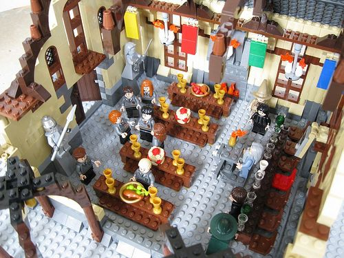 Hogwarts Main Hall Moc Lego Hogwarts Lego Harry Potter Lego Harry Potter Moc
