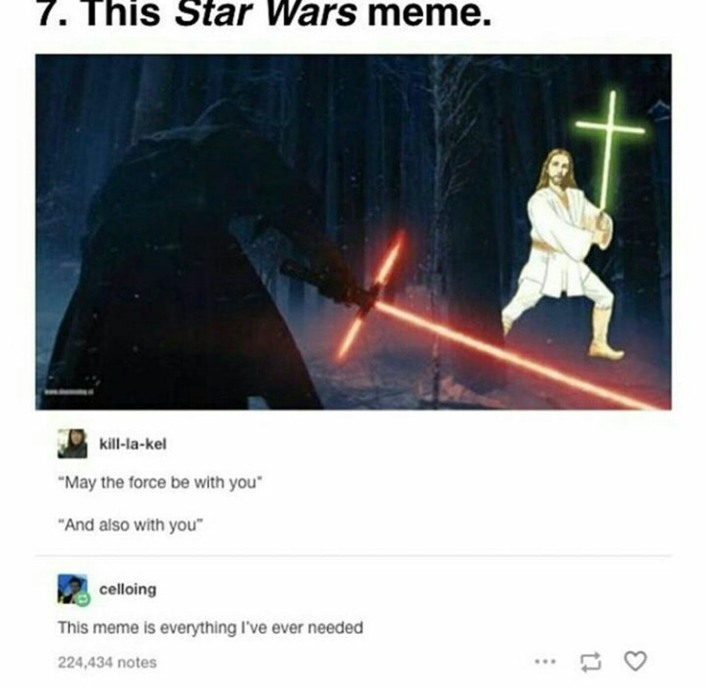May The Force Be With You And Also With You Star Wars Humor Star Wars Memes Best Funny Pictures
