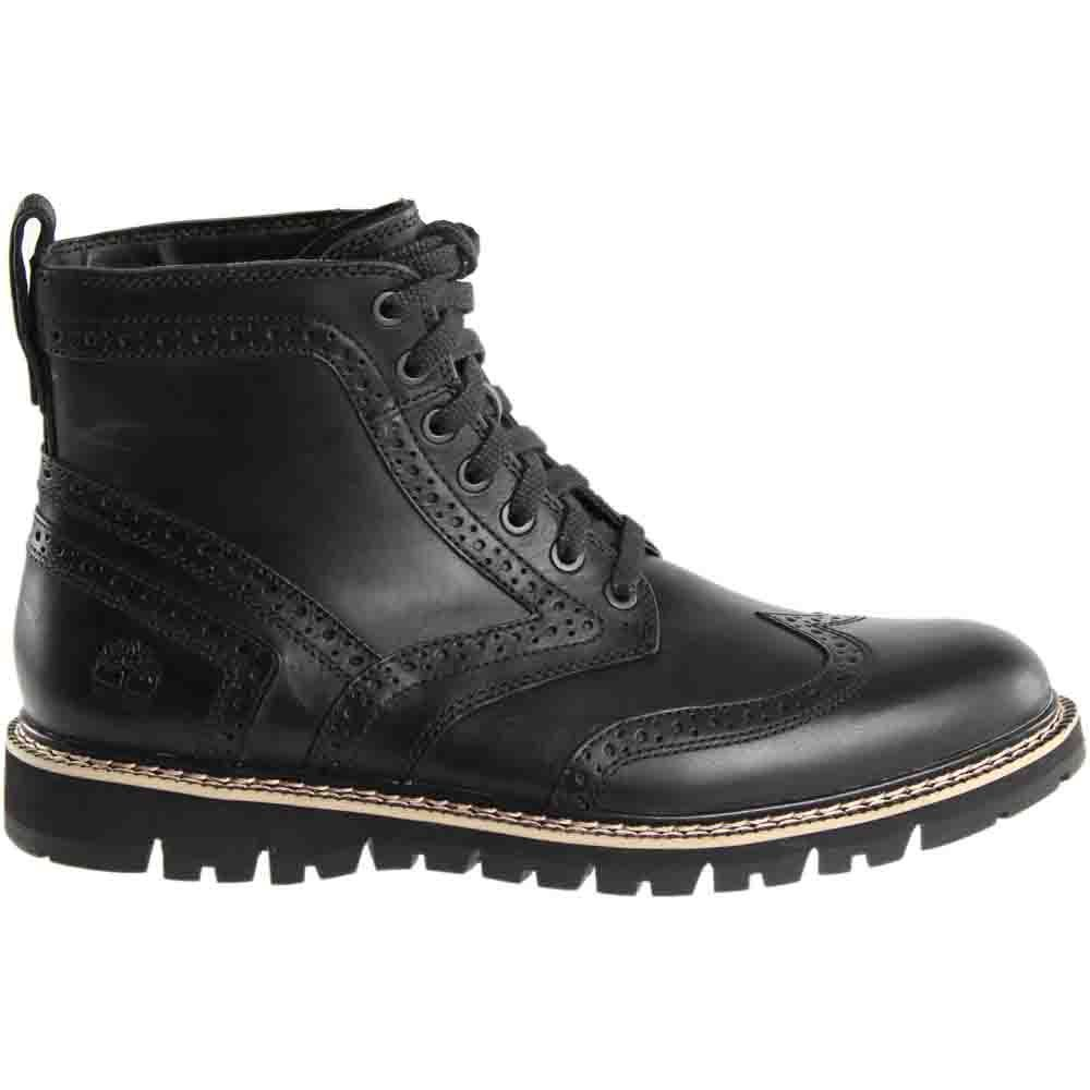 a8bdb24aecfd Timberland Mens Britton Hill Wingtip Black Boot 10     Learn more by  visiting the image link. (This is an affiliate link)  TimberlandBootsforMen