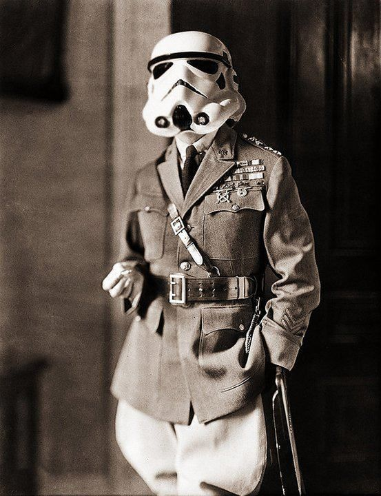 Wartime trooper? - CAABOH - Enjoy the Jokes