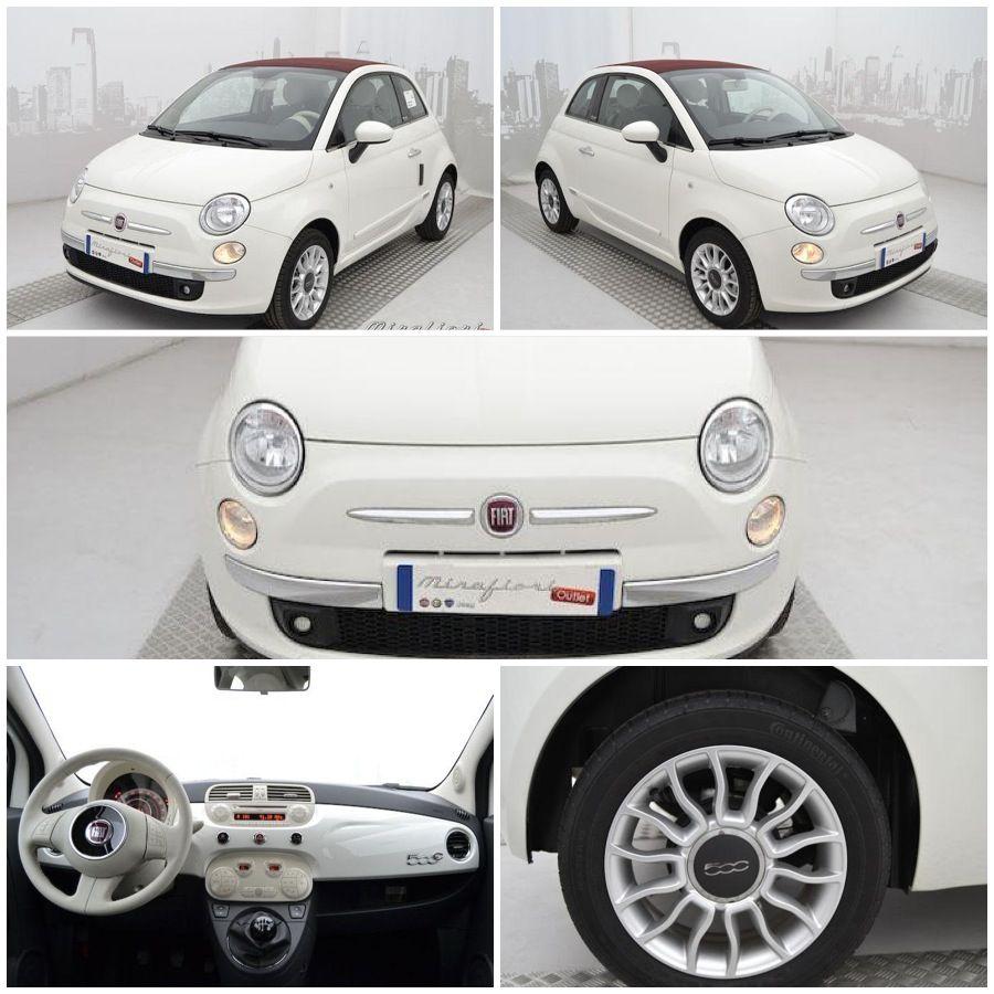 Fiat 500c 69cv Lounge Km Zero Color Bianco Gelato Del Giugno