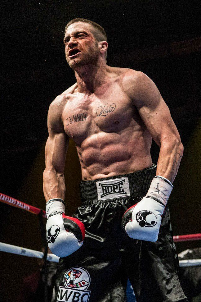 Jake Gyllenhaal Is Ripped And Unrecognizable In Southpaw First Photo Jake Gyllenhaal Shirtless Jake Gyllenhaal Southpaw Movie