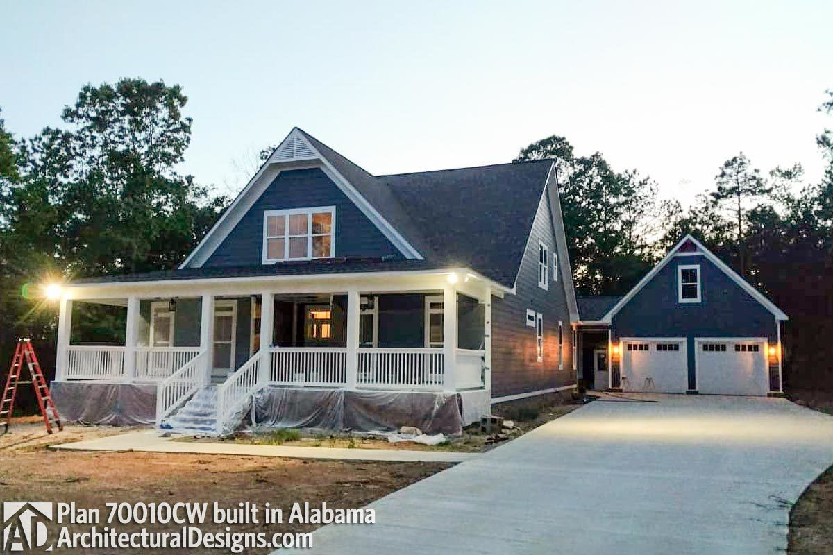 Plan 70010cw Adorable Cottage With