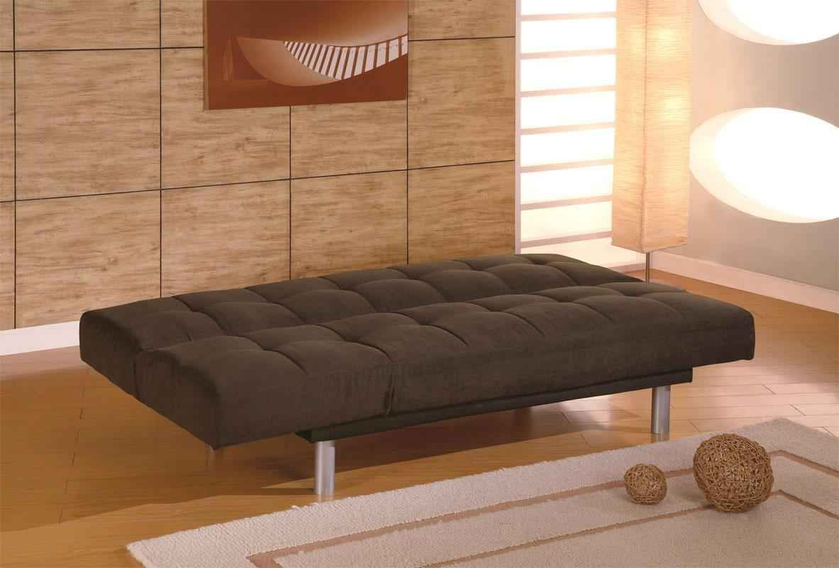 Modern Futon Mattress Ikea Brown Color