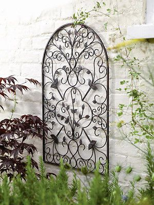Decorative Metal Spanish Arch Wall Art Sculpture Decoration For Home Garden In Patio Ornaments Statues Lawn