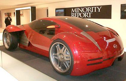 lexus futuristic concept car особое мнение