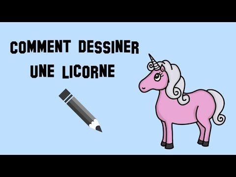 Comment dessiner une licorne facile - YouTube u2026 Pinteresu2026 - comment dessiner une maison en 3d