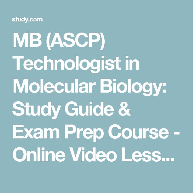 mb ascp technologist in molecular biology study guide exam prep rh pinterest com ASCP Medical Technologist Study Guide ASCP Study Guide Book Orange