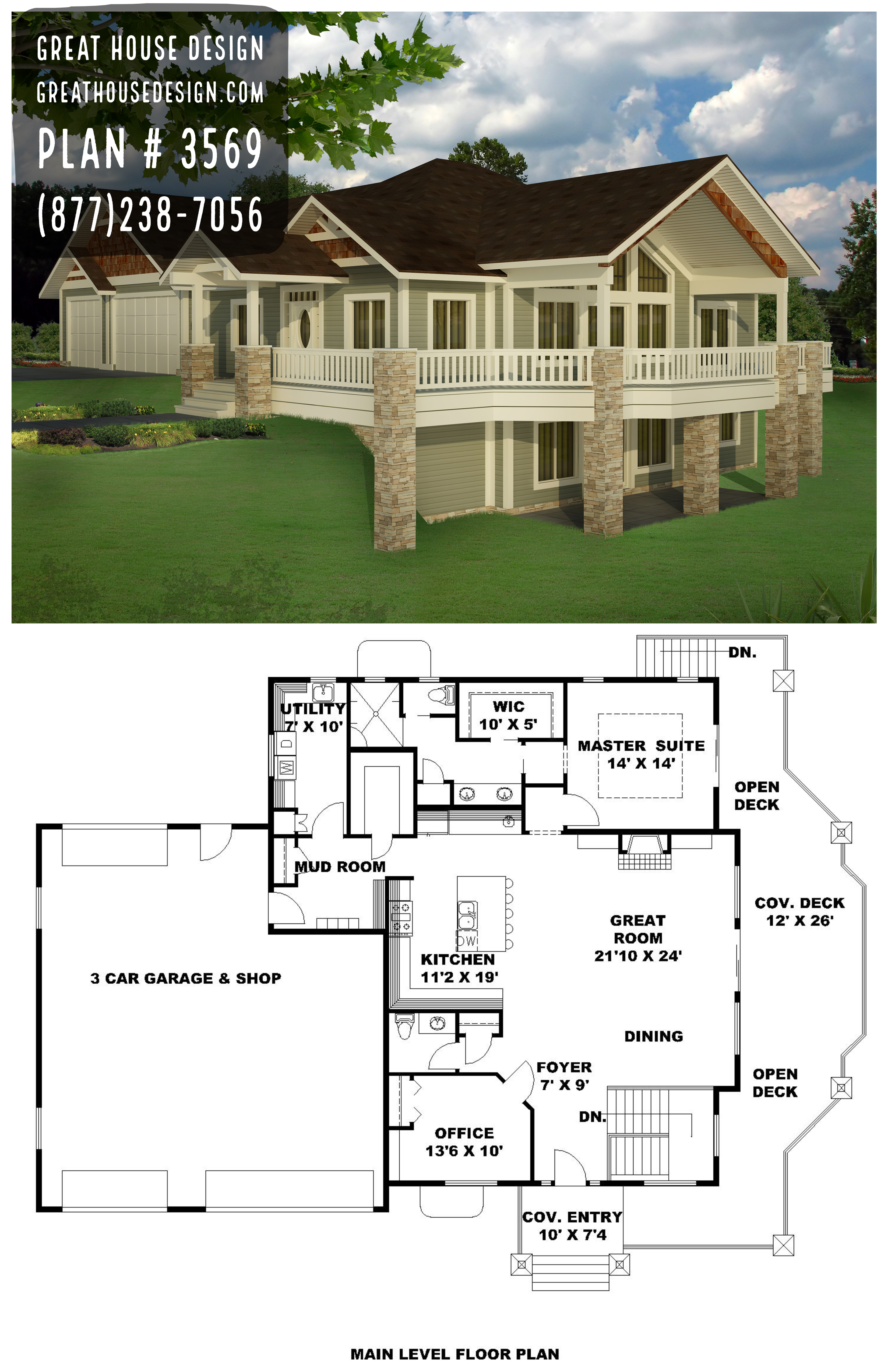 Home Plan 001 3569 Home Plan Great House Design Cottage Style House Plans Sims House Plans House Plans Farmhouse