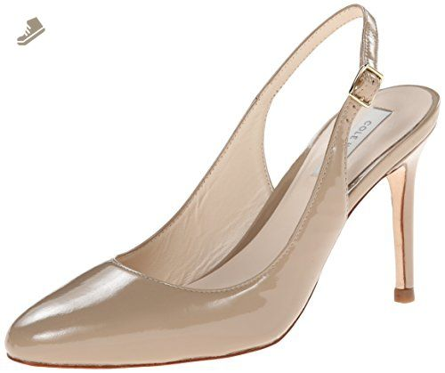 Cole Haan Women's Bethany Sling 85 Pump,Maple Sugar Patent,11 B US -